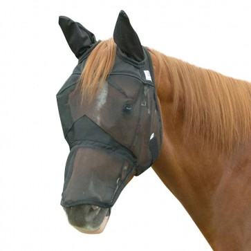 Cashel Crusader Quiet Ride Fly Mask