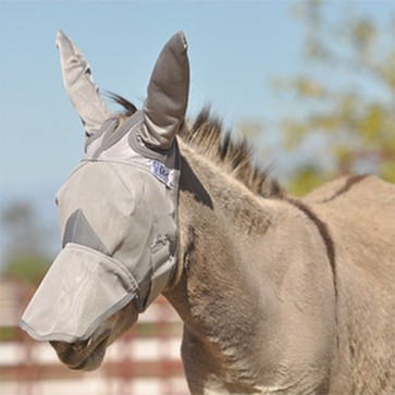 Cashel Fly Mask Donkey Long with Ears