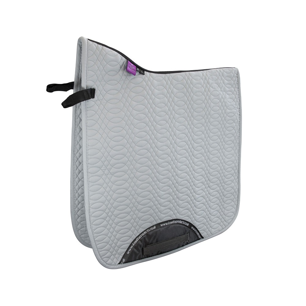 Dressage Saddle Cloth Platinum Grey