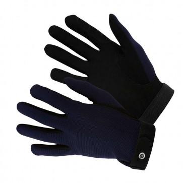 KM Elite All Rounder Gloves Navy Blue