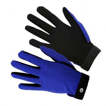 KM Elite All Rounder Gloves Royal Blue
