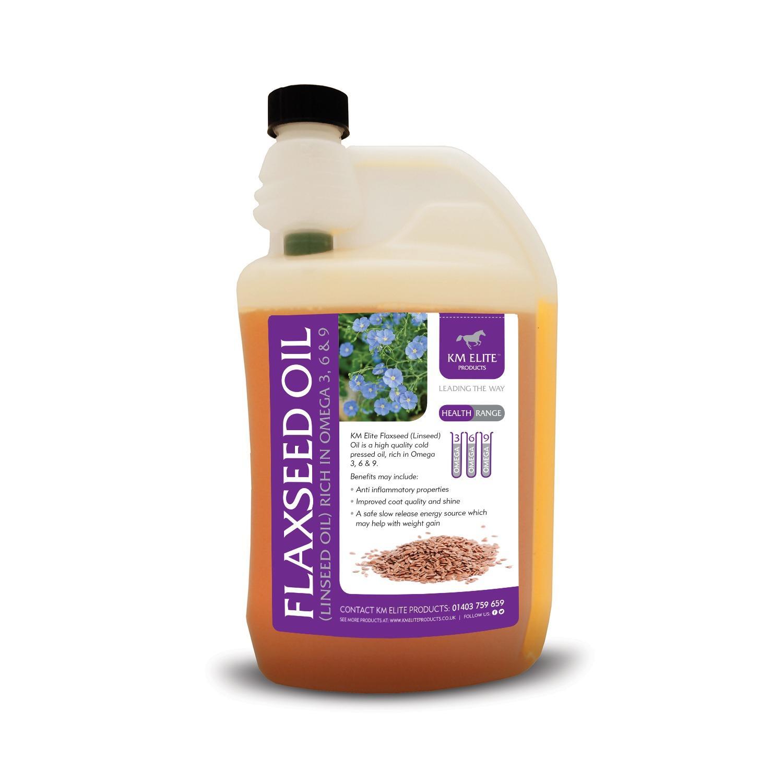 KM Elite Flaxseed (Linseed) Oil