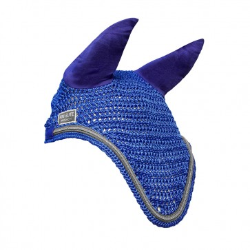 KM Elite Fly Veil Royal Blue/Silver Trim