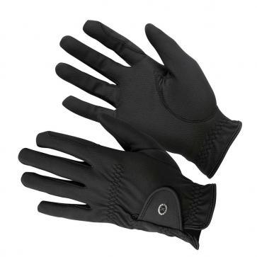 KM Elite ProGrip Gloves Black