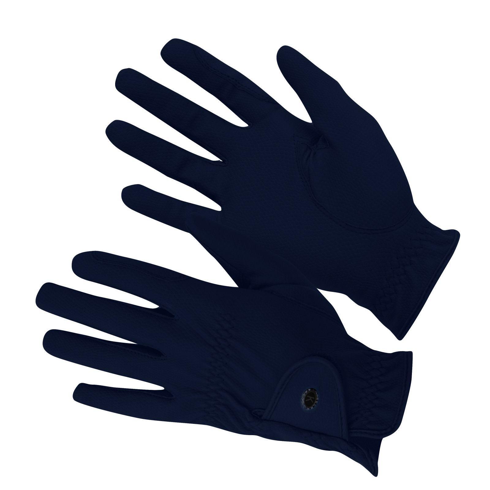 KM Elite ProGrip Gloves Navy Blue