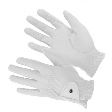 KM Elite ProGrip Gloves White