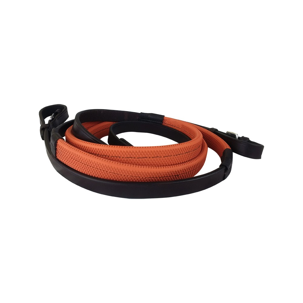 Kriss Orange Racing Reins