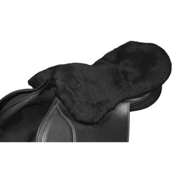 Lambswool Seat Saver Black