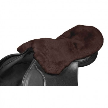 Lambswool Seat Saver Mocha Large