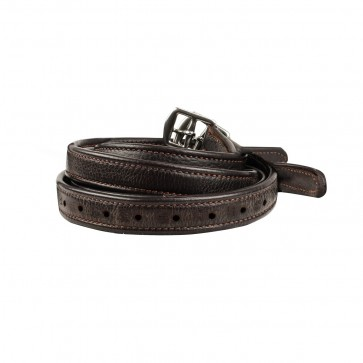 Luxury Stirrup Leathers Brown