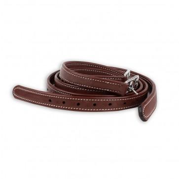 Luxury Stirrup Leathers Chesnut