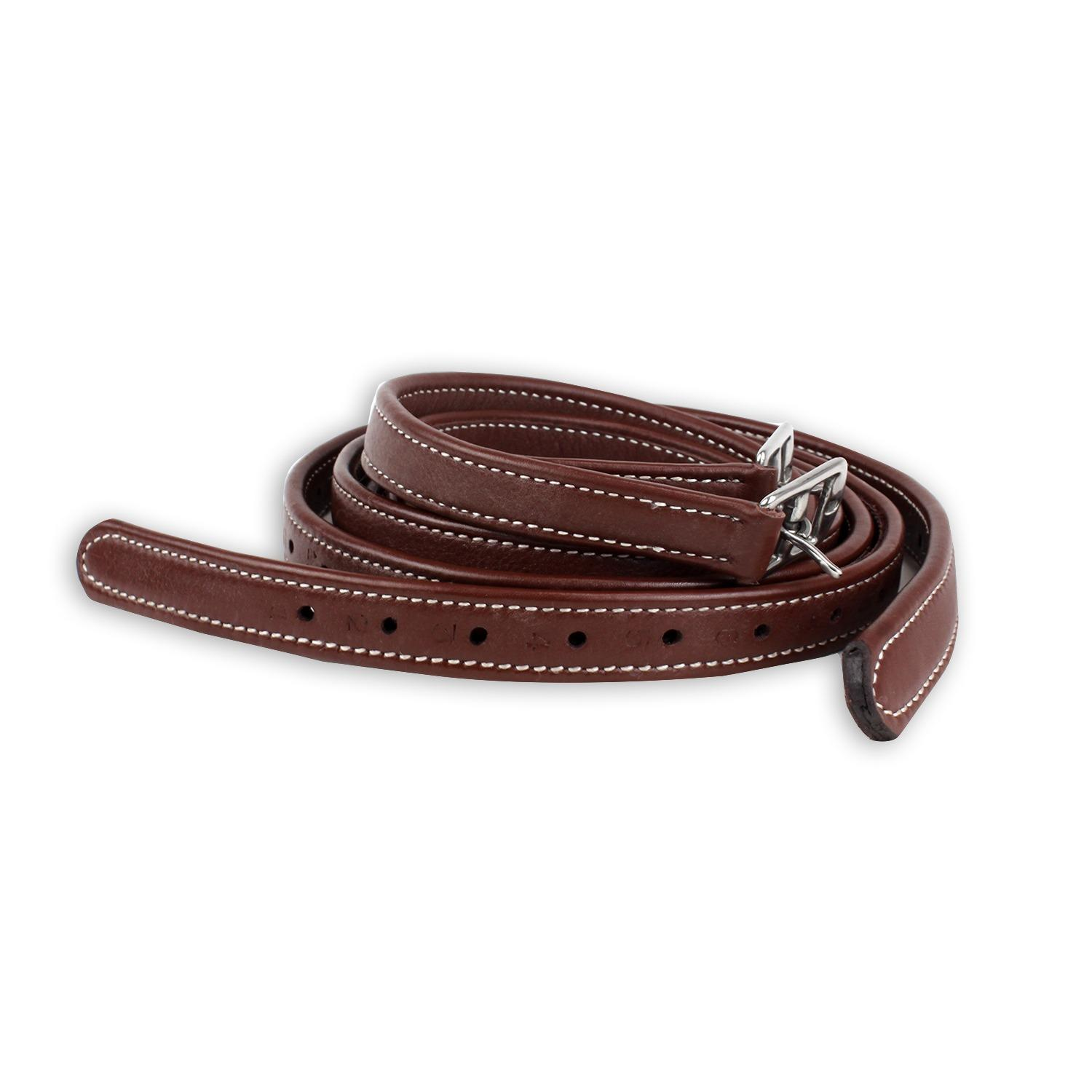Luxury Stirrup Leathers Chestnut