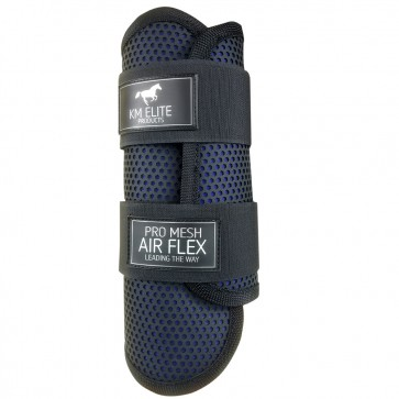 Pro Mesh Lite Event Boots Black/Blue Front