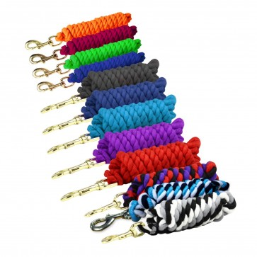 Superfine Cotton Lead Rope - Solid Colours