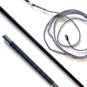 Telescopic Black Lunge Whip